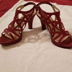 Naturalizer strappy heels